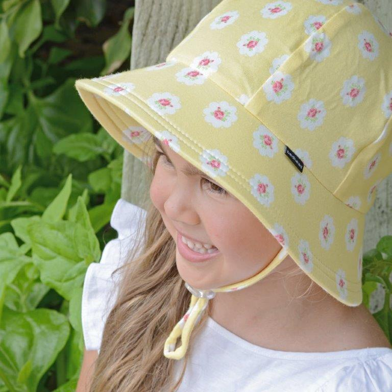 Bedhead - Ponytail Bucket Hat - Olivia Lemon Print