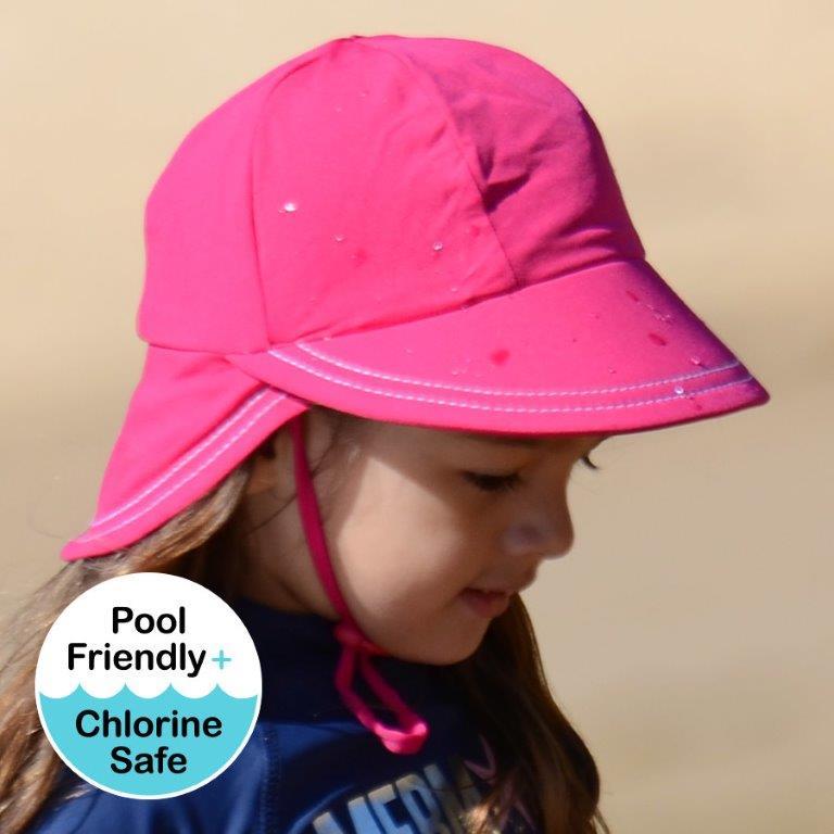 b2b86636319 Bedhead - Legionnaire UPF50+ Swim Hat - Sherbert