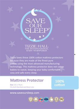 Save Our Sleep,  100% Cotton Mattress Protector